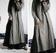 Load image into Gallery viewer, Linen Long Kurti - TAIGS000