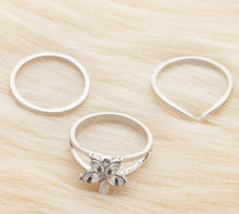 Load image into Gallery viewer, Silver Toe Rings 3pcs/set - TAIGS000