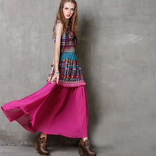 Load image into Gallery viewer, Ethnic Layer Skirt - TAIGS000