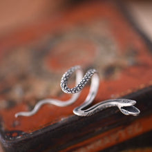 Load image into Gallery viewer, 925 Sterling Silver Snake Ear Cuff - TAIGS000