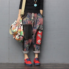 Load image into Gallery viewer, Patchwork Denim Trousers - TAIGS000