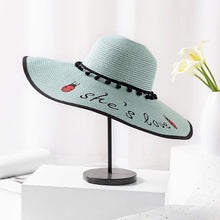 Load image into Gallery viewer, Sun Visor Wide Brim Foldable Hat - TAIGS000