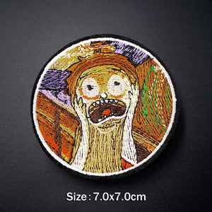 Embroidered Iron On Badges - TAIGS000