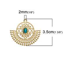 Load image into Gallery viewer, Sri Yantra Meditation Pendant - TAIGS000
