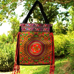 Ethnic shoulder bag - TAIGS000