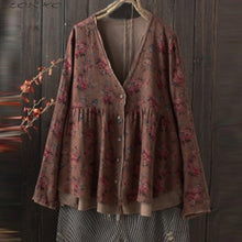 Load image into Gallery viewer, Oversized Boho Cardigan - TAIGS000