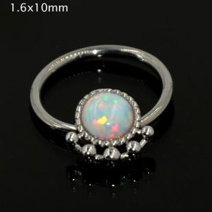 Opal Stone Septum Ring - TAIGS000