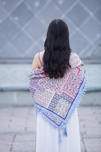 Bohemian Cotton Scarf - TAIGS000