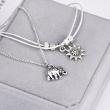 Load image into Gallery viewer, Sun elephant pendant anklet - TAIGS000