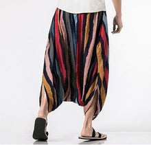 Load image into Gallery viewer, Men's Solid Harem Pants - TAIGS000