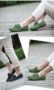 Breathable Men'S Handmade Loafers - TAIGS000