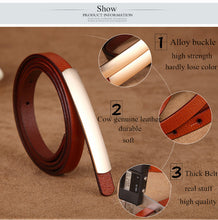 Load image into Gallery viewer, Exquisite leather belt - TAIGS000