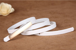 Exquisite leather belt - TAIGS000