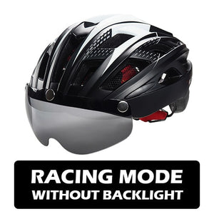 Ultralight MTB Road Bike Lens Visor Helmets - TAIGS000