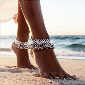 Vintage Silver Anklets - TAIGS000