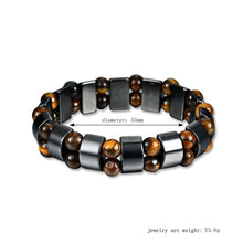 Load image into Gallery viewer, Hematite Beads Bracelet - TAIGS000