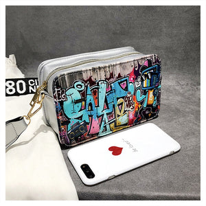 Graffiti shoulder bag - TAIGS000