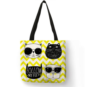 Eco Kitten Shopping Bag - TAIGS000