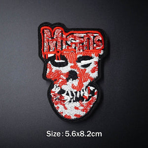 Rock Music Iron On Patch - TAIGS000