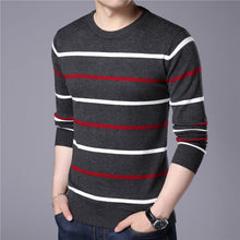 Load image into Gallery viewer, Slim fit Striped Jumper Men - TAIGS000