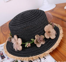 Load image into Gallery viewer, Short Eaves Raffia Straw Hat - TAIGS000