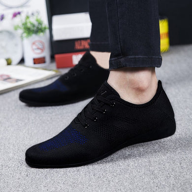 Low Lace-up Mesh Male Shoes