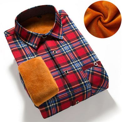 Plaid Flannel Shirt Men - TAIGS000