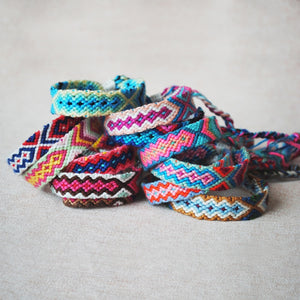 Multicolor Braided Friendship Bands - TAIGS000