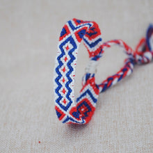 Load image into Gallery viewer, Multicolor Braided Friendship Bands - TAIGS000