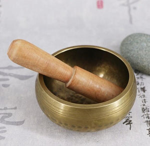 Handmade Brass Singing Bowl for Healing - TAIGS000