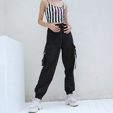 Load image into Gallery viewer, Streetwear Cargo Pants Women - TAIGS000