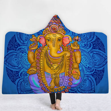 Meditation Hooded Blanket - TAIGS000