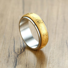 Load image into Gallery viewer, Golden Mantra Ring - TAIGS000