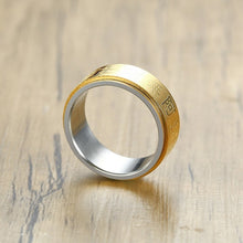 Load image into Gallery viewer, Stainless Steel Buddhist Ring - TAIGS000