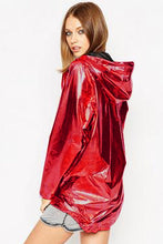 Load image into Gallery viewer, Metallic Bomber Jacket - TAIGS000