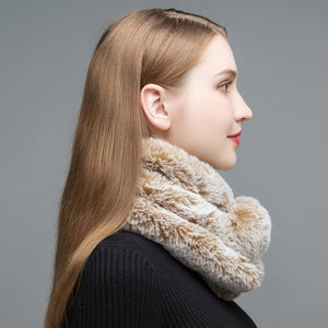 Faux Fur Scarves - TAIGS000