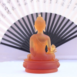 Colored Buddha statue - TAIGS000