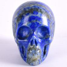 Load image into Gallery viewer, 2 inches Handmade Natural Stone Skull Figurine - TAIGS000