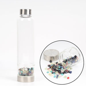 Crystal Healing Infused water bottle - TAIGS000
