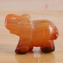 Load image into Gallery viewer, Onyx Healing crystal elephant - TAIGS000