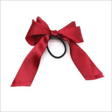 Load image into Gallery viewer, Satin Ribbon Bow Hair Band - TAIGS000