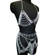 Load image into Gallery viewer, Crystal Beading Exotic Bodysuits - TAIGS000