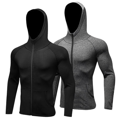 Hooded Compression Sports Jacket - TAIGS000