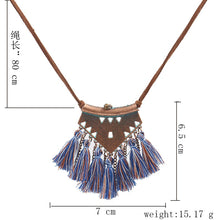 Load image into Gallery viewer, Sweater Rope Necklace - TAIGS000