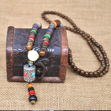 Load image into Gallery viewer, Handmade Ethnic Beads Necklace - TAIGS000