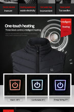Load image into Gallery viewer, Electric Heated Vest - TAIGS000