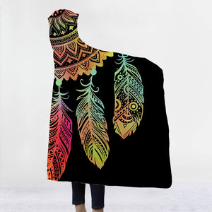 Feather Hooded Blanket - TAIGS000