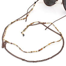 Load image into Gallery viewer, Handmade Double Layer Beaded Eyeglass Rope - TAIGS000