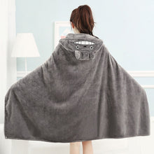 Load image into Gallery viewer, Totoro Minky Hooded Blanket - TAIGS000