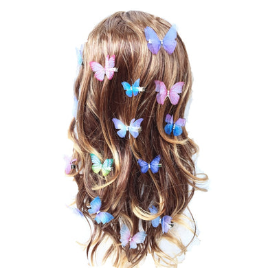Tulle Butterfly Hair Clip set - TAIGS000